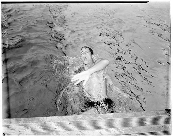 Swimmer, 1955