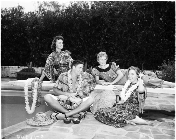 Ticktocker's luau, 1958