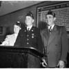 American Legion meeting, 1954