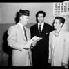 Boys state in Sacramento, 1954