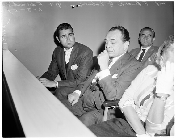 Edward G. Robinson, Junior sentenced, 1957