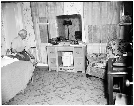 Carbon monoxide poisoning, 1956