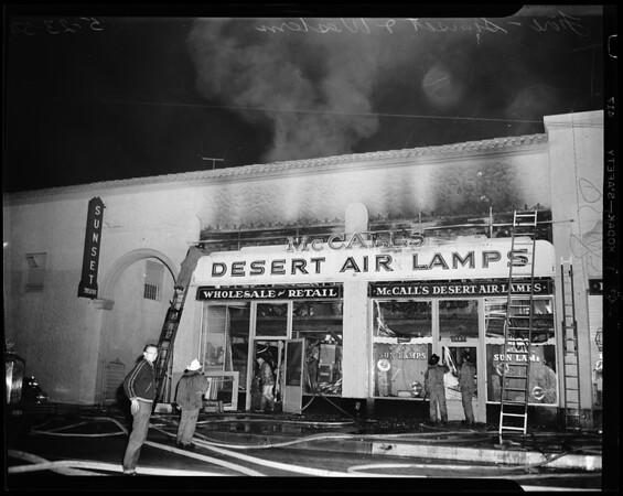 Fire -- local, 1954