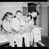 Four children in same family undergo tonsillectomy, 1956