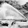 Hancock Oil Company fire in Signal Hill, 1958