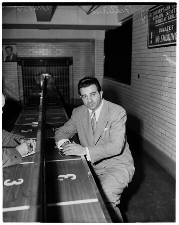 Jimmy Fratiano -- a crook, 1954