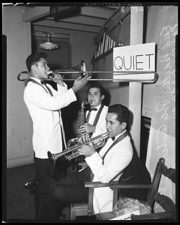 Glendale High School band, 1960