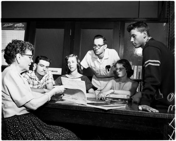 College planning, 1958