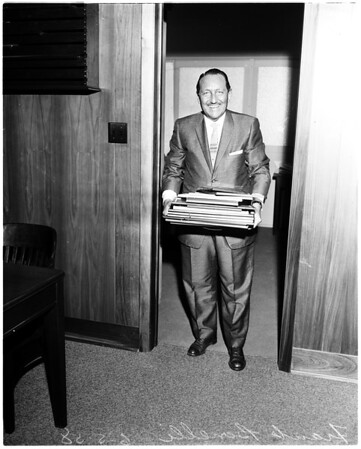 Bonelli moves into his office (supervisor), 1958