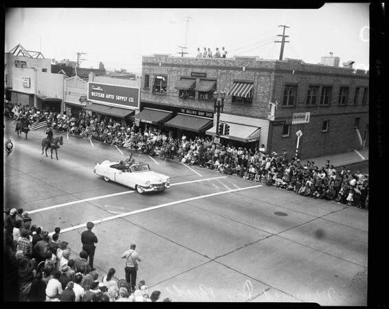 Monrovia Day Parade, 1954