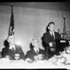 World Affairs Council dinner, 1954