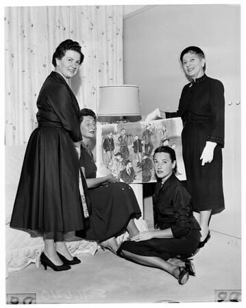"""Society"" -- Cedars of Lebanon, 1955"