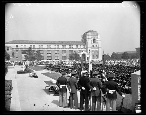 Univedrsity of California, Los Angeles Commencement, 1954