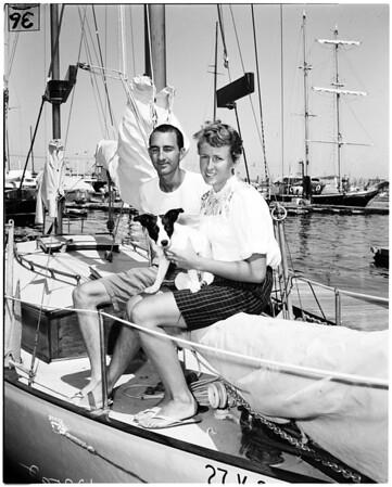 South Seas yacht cruise, 1958