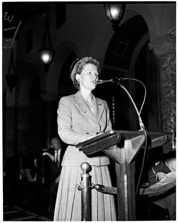 Auditorium bond issue, 1954