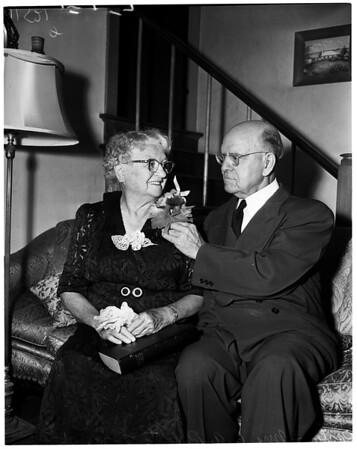 60th wedding anniversary, 1955