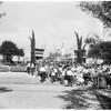 Disneyland opening, 1955
