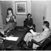 Business Conference at Metropolitan Junior College, 1954