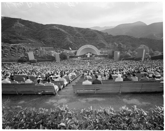 Easter Sunrise Services at Hollywood Bowl, 1957