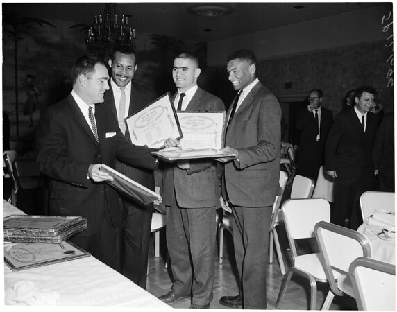 Football writers award, 1959