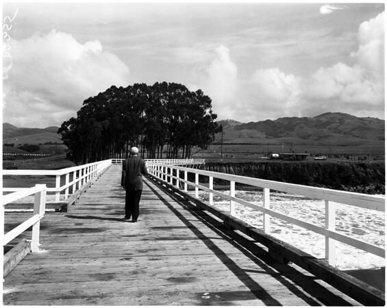 San Simeon California state park, 1958