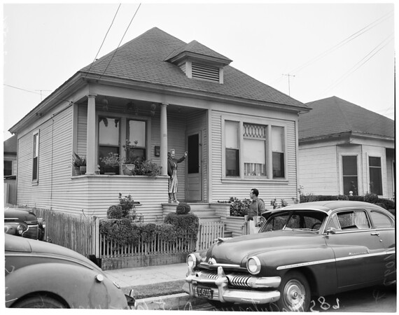 Redevelopment project, 1954