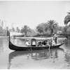 Gondola on MacArthur Park Lake, 1955