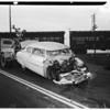 Accidents -- Train versus auto, 1951