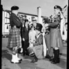 3rd annual Gaelic Feis at Mount Carmel High School, 1954