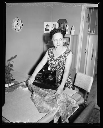 """""""Mrs. California"""" contest, 1956"""