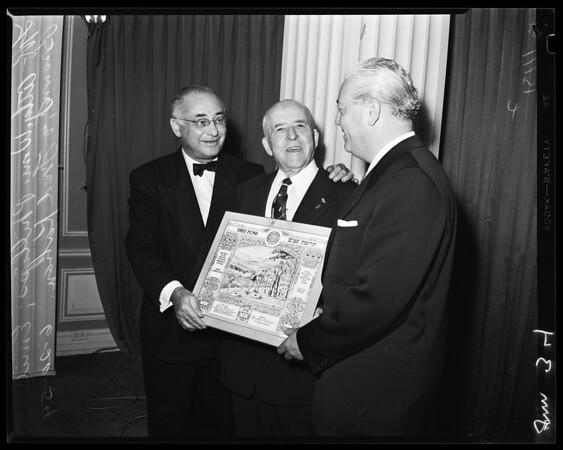 Emil Brown (Ambassador), 1954