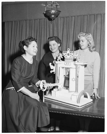National Women's League - Planning Torah Luncheon, 1957