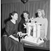 National Women's League - Planning Torah Luncheon, 1957