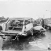 Freeway traffic accident, 1960