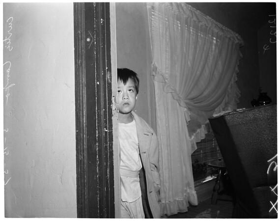 Accidental shooting, 1957