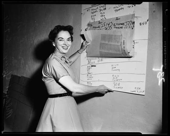 Mildred Younger -- Campaign Headquarters 5668 Wilshire Boulevard, 1954