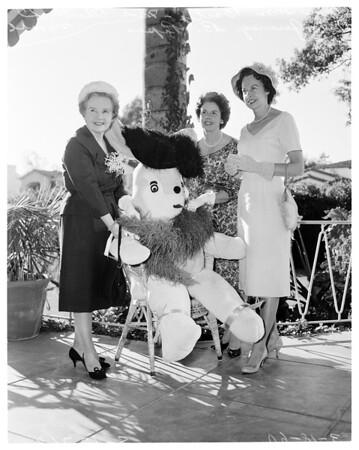 Beverly Hills Womens Club Bunny Brunch, 1960