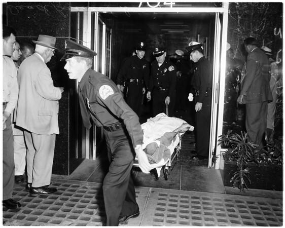 Loan Company robbed, 1958