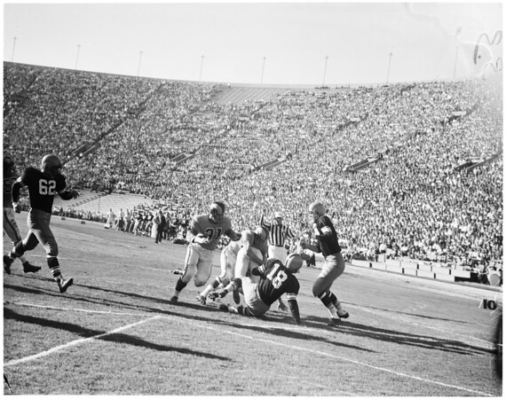 Rams versus Green Bay Packers, 1955