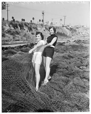 Skipperette contest, 1955.