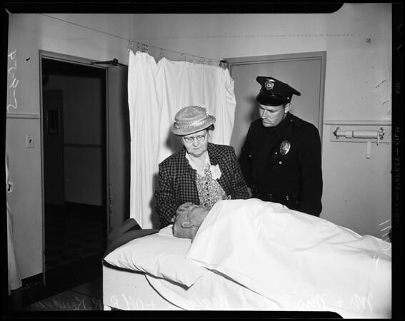 Attack victim, 1954