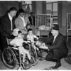 Shrine Football -- Shrine Hospital,  1955