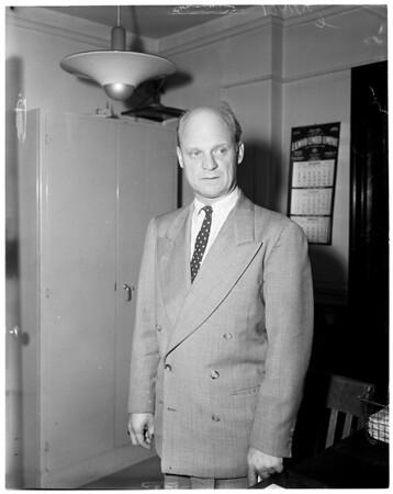 Diamond and fur suit, 1957