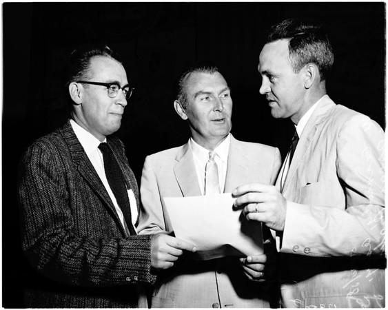 Sub committee hearing on aeronautics, 1958
