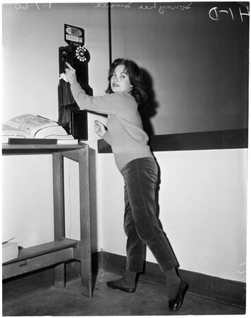 Girl in Beverly Hills Jail, 1959