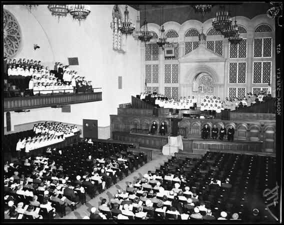 Child Choirs -- 1st Baptist Church of Los Angeles, 1954