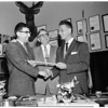 New Director of Sheriff's Boys Band, 1955