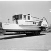 "Home built side wheeler boat for harbor (""Dolphin""), 1953"