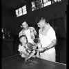 Table tennis tournament, 1955