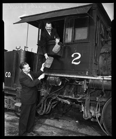 Oldest Locomotive, 1955